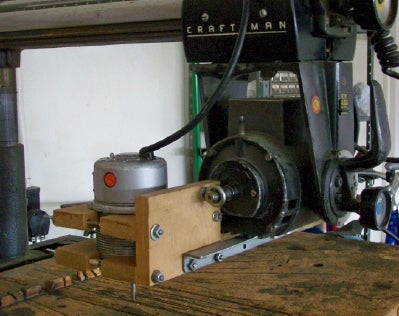 Pin Router for a Sears Radial Arm Saw: 10 Steps (with ...