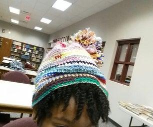 Scrapy Crochet Hat