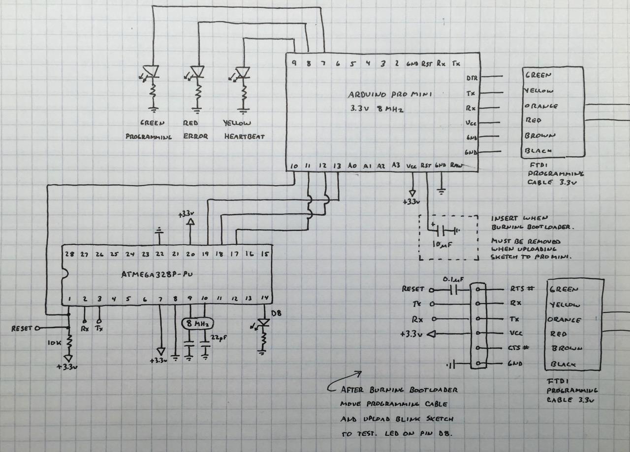 Picture of Burn Arduino Bootloader to ATMEGA328P-PU Using Arduino Pro Mini