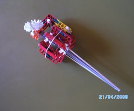 Knex Grenade That Works With Saftypin and Is Sucured by Handle