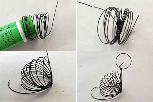 Picture of Make the Main Part of the Cute Black Wire Wrapped Cat Craft