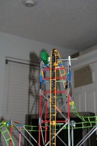 "K'nex Coaster ""Fall Down""."