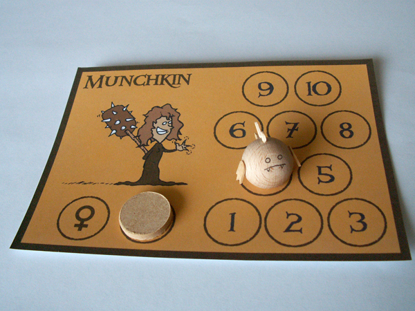 Picture of Enjoy Your Munchkin Monster Pawns!