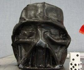Intro To Design Lesson: Create A Paper Mache Darth Vader Tin Can Math Game