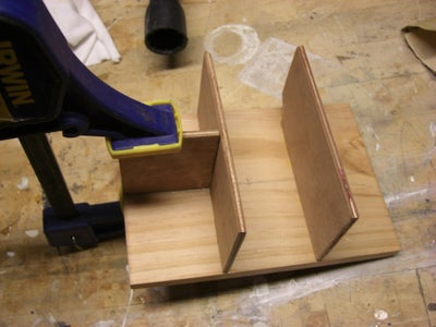 Gluing the Bottle Spacers