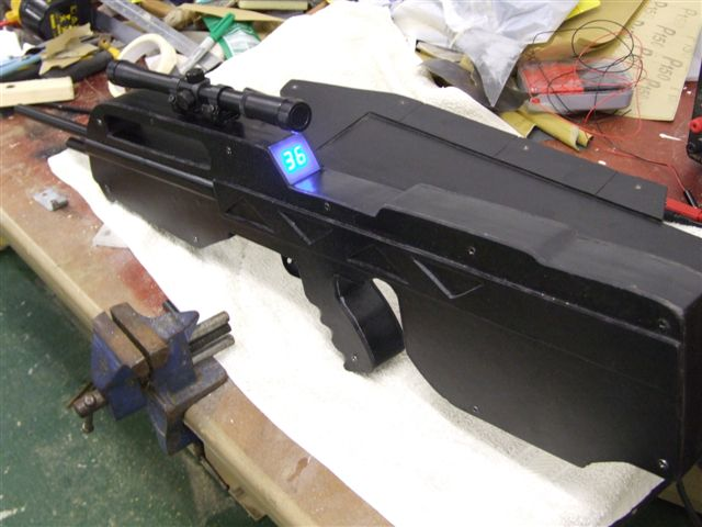Picture of Halo Battle and Assault Style Toys With Realistic Firing.