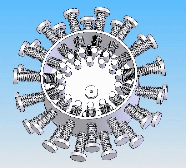 Picture of The Patent - Surcface Complient Magnetic Wheel