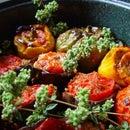 Stuffed Tomatoes & Peppers - Gemista