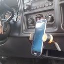 DIY Truck Phone Holder