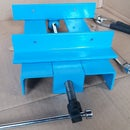 Bench Drill Made of Metal Scrap