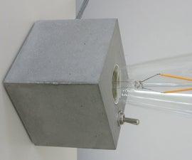 Concrete Lamp (1)