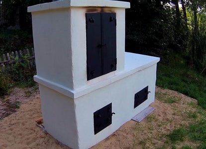 Smokehouse, Pizza Oven, Garden Grill - DIY Tutorial