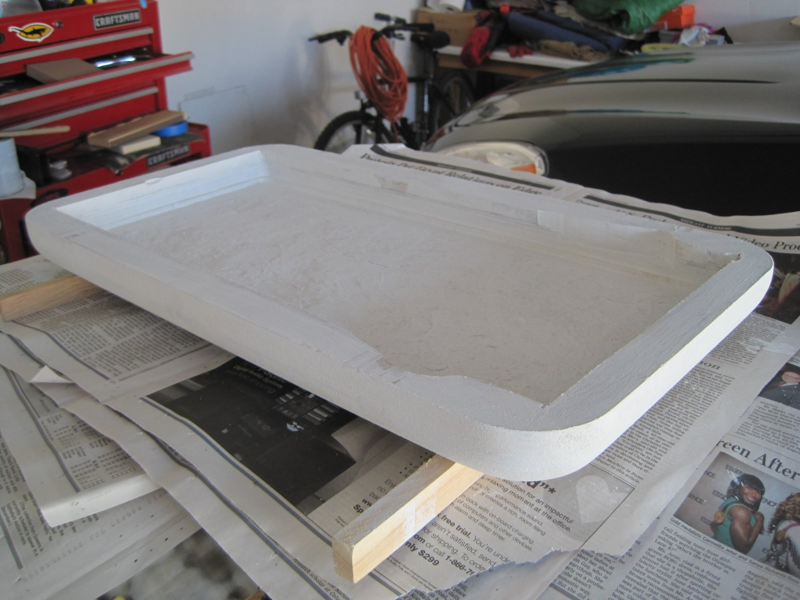 Picture of Primed and Painted