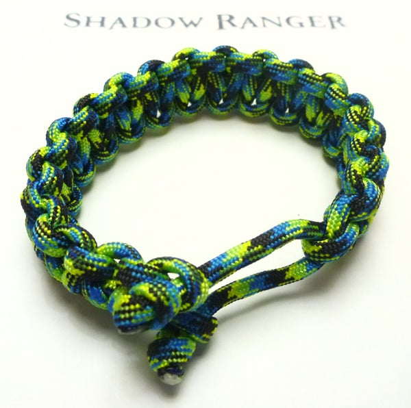 Slide-n-Tie Survival Bracelet