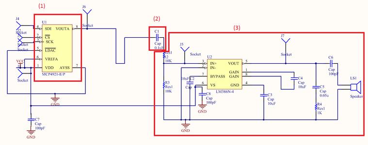 Conception Du Circuit En Sortie / Design of the Output Circuit