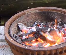 Brake Drum Forge - Beginning Blacksmithing