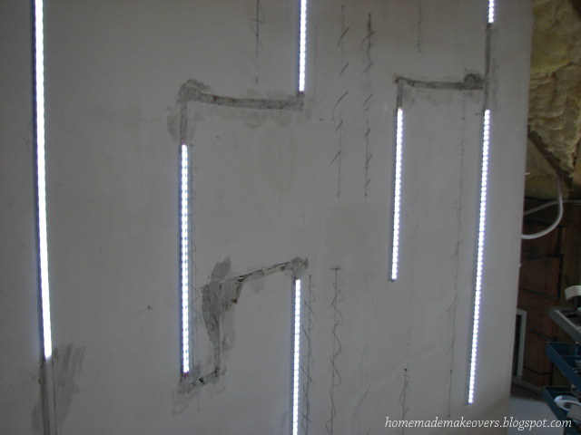 Picture of Attaching Led Profiles to the Wall