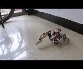 Q-Learning (machine Learning) Crawler Robot