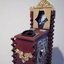 "Miniature model of the ""mutoscope"""