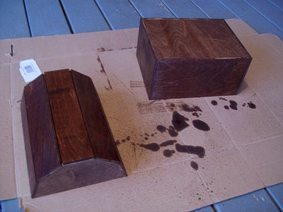 Apply Your Wood Stain.