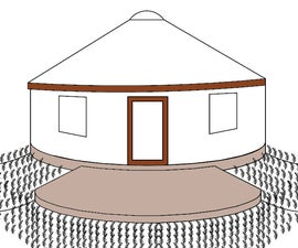 Insulated Earthbag Foundations for Yurts