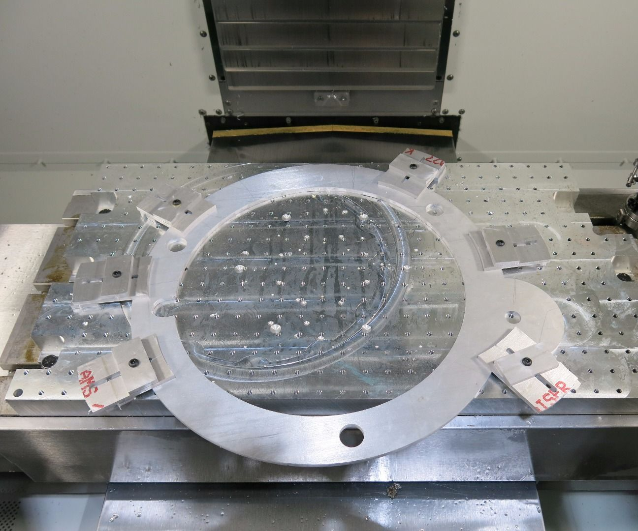 CNC It However It Lays: Adjusting CAM Toolpaths for Skewed
