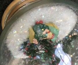 Santa Dreaming Snowball