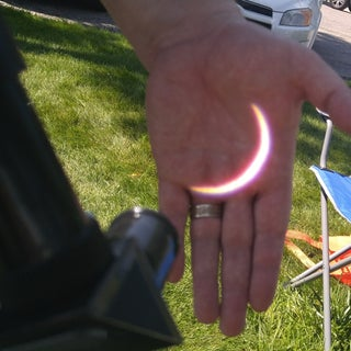 How to SAFELY View the Sun to See a Solar Eclipse and Search for Sunspots.