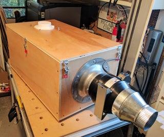Fume Coffin - Laser Cutter Exhaust Vent Filter