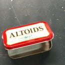 Recycled Mp3 Player Altoids Case!