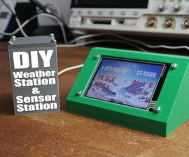 DIY Weather Station & WiFi Sensor Station