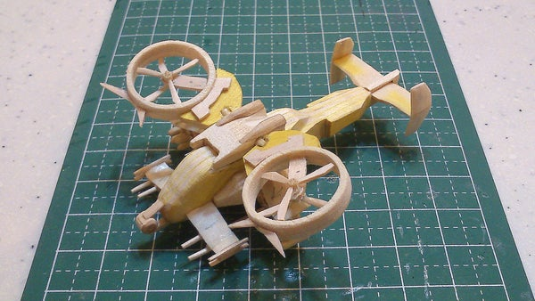 Mini AT-99 Scorpion Gunship From Avatar