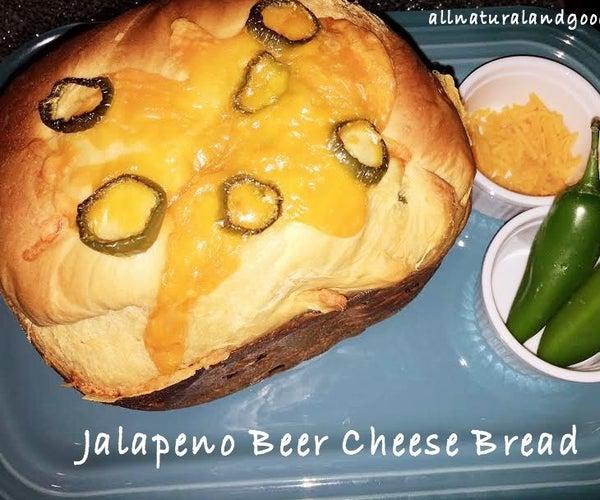 Jalapeño Beer Cheese Bread