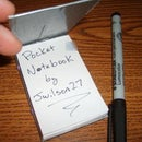 Duct Tape Pocket Notepad