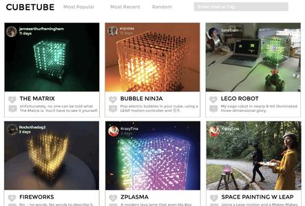 CubeTube: Volumetric App Sharing + Music