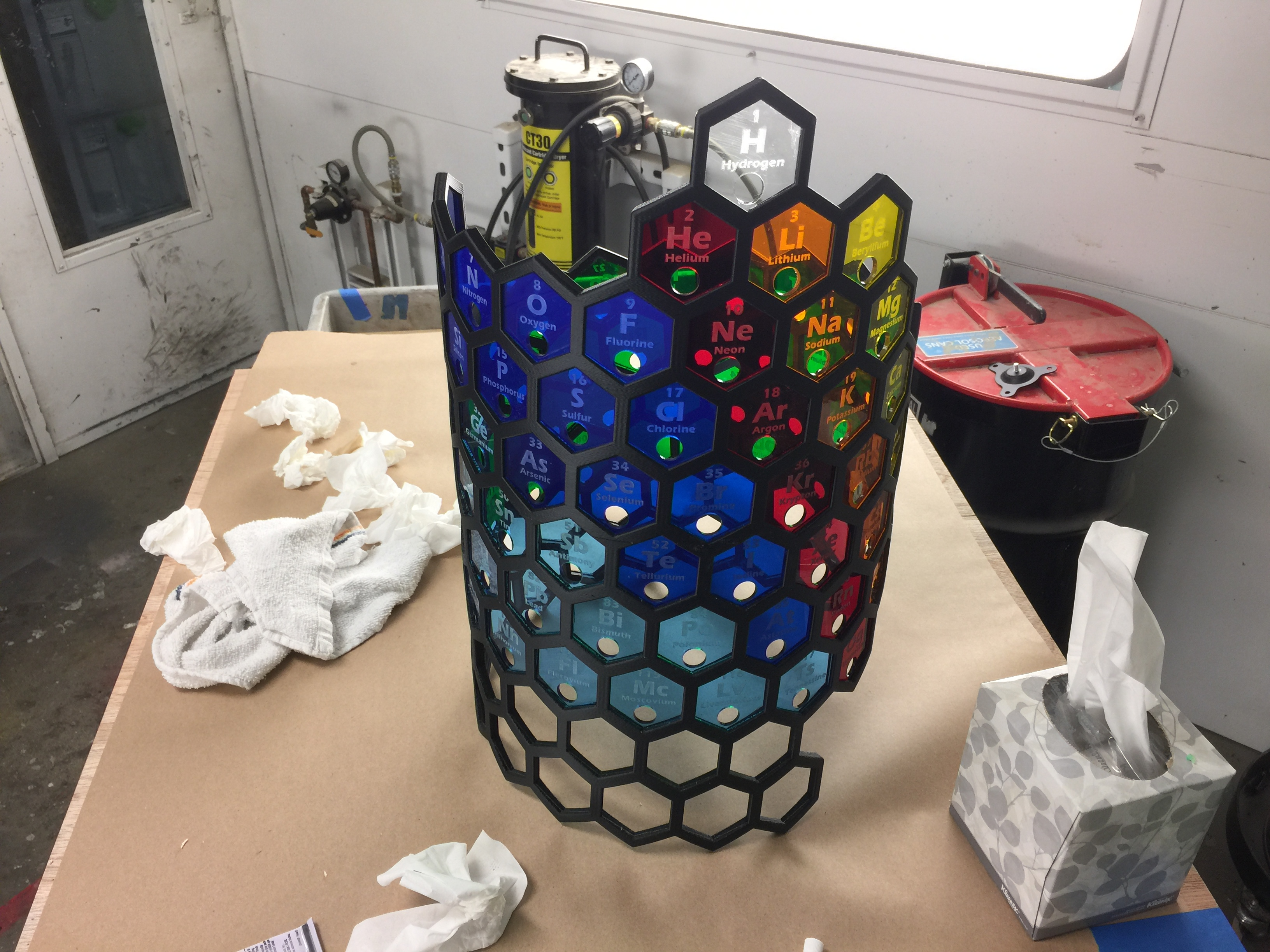 Picture of Install Hexagons