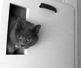 Built in, self venting Cat Box