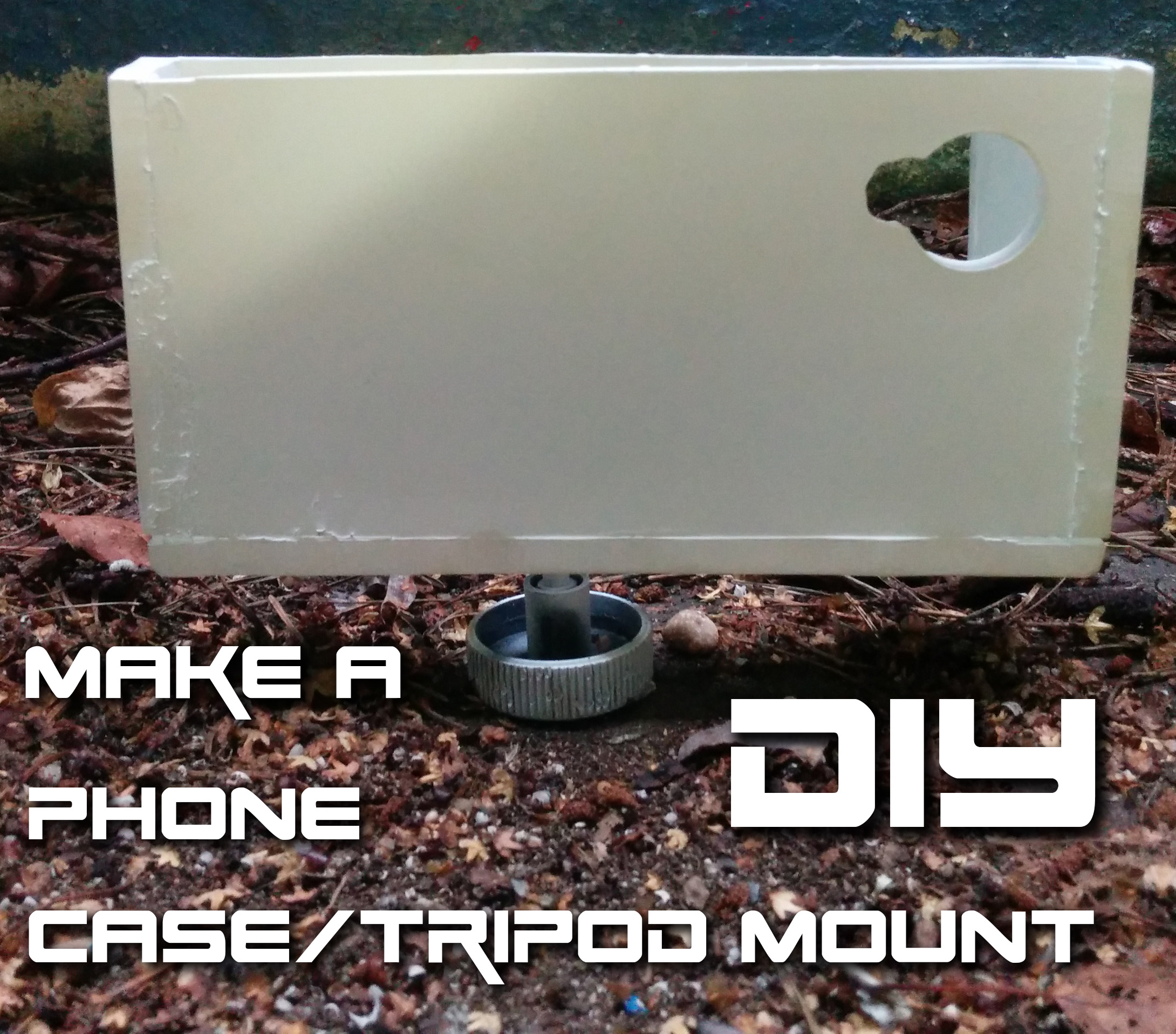 Picture of DIY Smartphone Tripod Mount/case