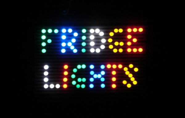 Magnetic Refrigerator Lights