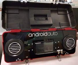 Android Auto Portable Dev-Box (DIY)
