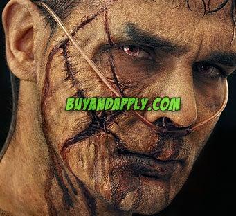 Zombie Prosthetic Make Up FX & Costume