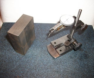 Modifying a Surface Gauge for Squareness Measuring