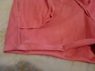 Hem the Bottom of Shorts