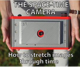 How to Stretch Images Through Time With Space-time Camera and Processing
