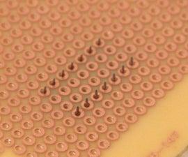 Soldering Sockets and Header Pins on Straight