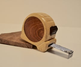 Handmade Wood Tape Measure