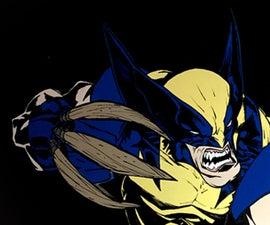 Wolverine Wall Art || MDF