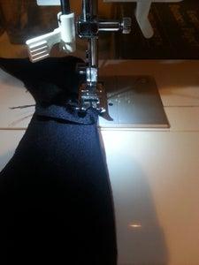 Sewing the Bikini Bottom