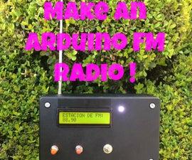 Make an arduino FM Radio! (using TEA5767)