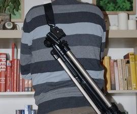 Make a Shoulder Strap for Your Tripod